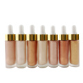 4 colores individuales Highlighter Face Makeup Liquid Highlighter