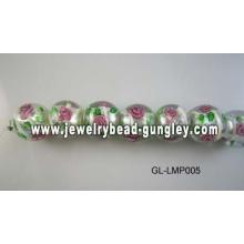 цветок стеклянные бусины для DIY ювелирные изделия
