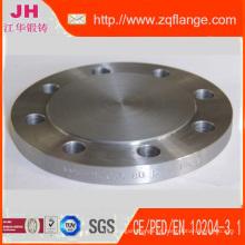 Flange de DIN2527 Pn10 Dn80 de aço carbono