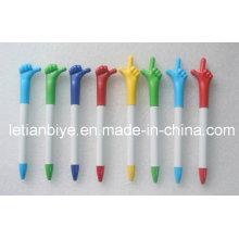 Fancy Finger Pen aufgedruckt Logo für Werbung (LT-Y015)
