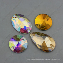 Flat Back Crystal Sew on Stone for Garment Accessories