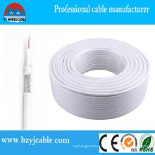 CCTV кабель Коаксиальный кабель Медь / CCS / CCA проводник кабель