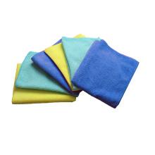 Serviettes de chiffons de nettoyage en microfibre de voiture d'hôtel 280gsm