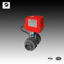 CTF-002 válvula de controle de solenóide UPVC válvula industrial para tratamento de água 2 polegadas