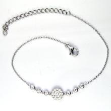 925 plata coloreó las pulseras cúbicas del zirconia (K-1754. JPG)