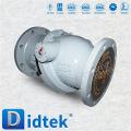 Foto de la válvula de retención del disco basculante Didtek
