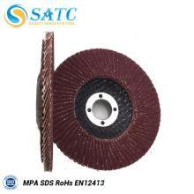 boa qualidade alumina flap disc para moer com preço promocional