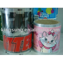 Heat Transfer sticker , Film, Decal for plastic products ,glass ,PE,metal
