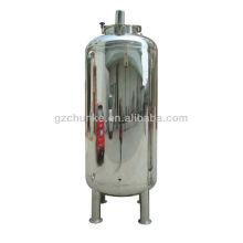 Tanque de agua de acero inoxidable para la planta de purificación de agua