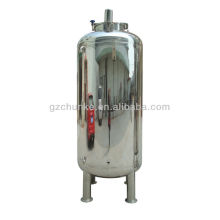 Réservoir d'eau d'acier inoxydable pour l'usine de purification de l'eau