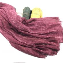 soft women sequin scarf shawl