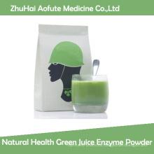 Polvo natural de la enzima del jugo verde de la salud