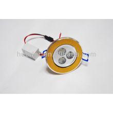 Huerler 100-240v / AC 50-60hz 60mA downlight led 3w