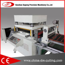 Large Size Hydraulic Type Label Die Cutting Machine