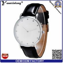 Yxl-241 Genuine Leather Men Watch Diamond Business Luxury Hot Sale Wrist Watch Fashion Watches Mens
