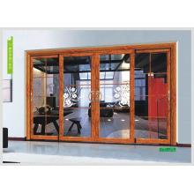 Glass door sliding glass door