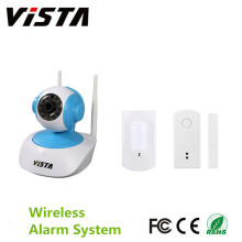 Wireless Security Indoor-System 720p IP-Kamera Pir-Melder
