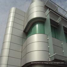 África ACP Aluminio Material del panel compuesto