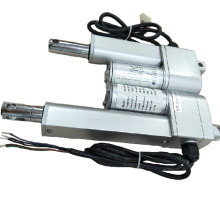 Small linear motion motor actuator with feedback