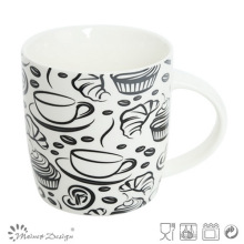 Coffee Cup Design New Bone China Mug