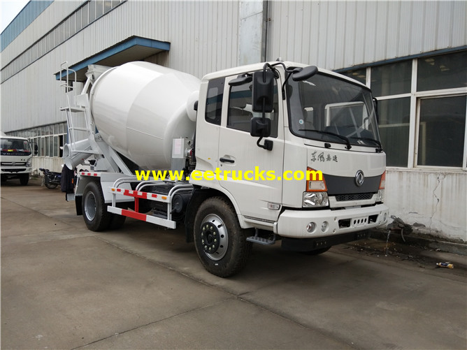 1000 Gallons Used Concrete Transport Trucks