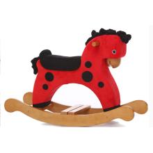 Fonte de Factroy Rocking Horse-Red com preto DOT