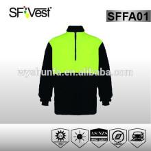 hi vis fleece jacket Australia style safety clothing safety sweatshirt workwear