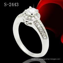 Jóias CZ para mulheres Ring Micro pavimentar anel (S-2443)