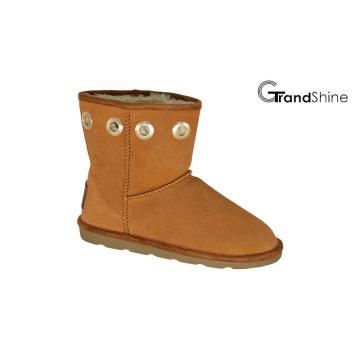 Women′s Suede Winter Boots