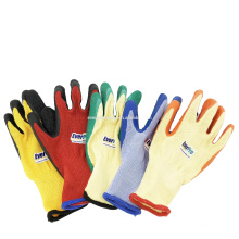 Everpro Safety 10Gauge 5yarn(21s) Cotton Lined Crinkle Latex Coated Gloves