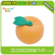 Orange Shaped Kids Erasers, jeu de papeterie de puzzle