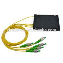 1 * 4 ST APC módulo de fibra óptica splitter ABS, atacado caixa plc splitter ordem de boas-vindas