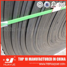 Bonne qualité résistante d'abrasion élevée de la bande de conveyeur d'Ep / Nn de couverture en caoutchouc pour les matériaux pointus