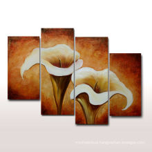 Hot Sell Handmade Tulip Oil Painting for Living Room