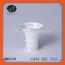 2015 Neuer Entwurf keramische Kaffeetasse, kundenspezifische gedruckte Kaffeetassen, Masse Kaffeetassen