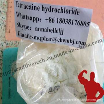 Base de Tetracaína Anestésico Local Powderful para Anti-Paining Anestésico CAS 94-24-6