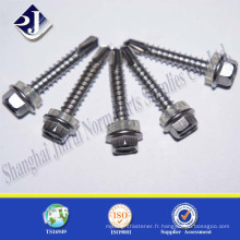 Alibaba Online Shopping Self Drilling pour WOOD Hex Screw