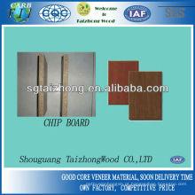 Alta qualidade Tipos Melamina Chip Board