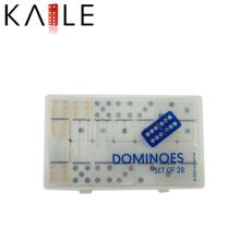 Produtos chineses atacado Double Six Domino em caixa plástica
