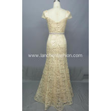 Pretty Quinceanera Lace Sleeve Dresses