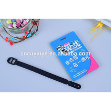 customized oval bag name tag with logo