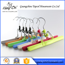 Metal wire hanger for dresses