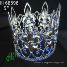 .New Designs Rhinestone todo o círculo garoto coroas e tiara