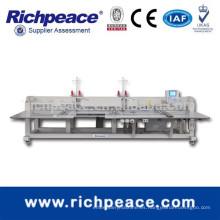 Máquina de coser de alta velocidad automática del estilo del puente de la Multi-Cabeza de Richpeace