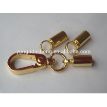 hot selling gold custom metal keychain with high quality and cheap price