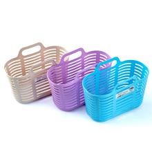 Multifunctional Plastic Shopping Basket with Handle