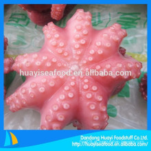 Venda quente marisco congelado todos os tamanhos flor forma polvo vulgaris