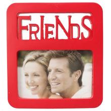 Rote wunderschöne Kunststoff Foto Frame Friends für Geschenke