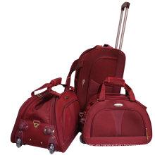 Nylon Travel Trolley Suitcase Deportes Duffle Bolsa de equipaje