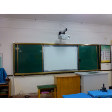 Sliding Whiteboard for Ineractive Class Teaching with Projcetor